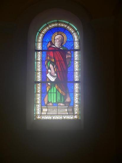 Vitraux de st André Olérargues