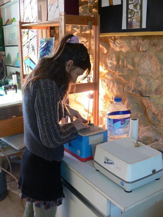 1er vitrail de Nathalie , fevrier 2009