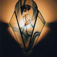 vitraux réalisés dans l'atelier de vitrail TOUCOULEUR