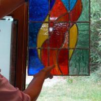 vitraux des élèves stage début septembre 2009