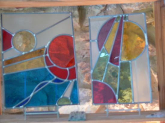 vitraux des élèves