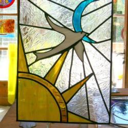 vitrail de LAURA