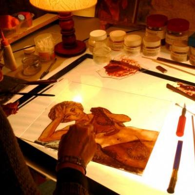 l'atelier au travail 2011