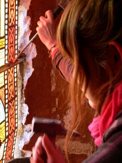initiation à la restauration de vitraux