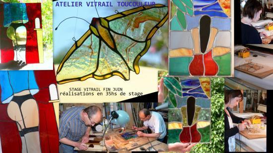 L'atelier de vitrail TOUCOULEUR