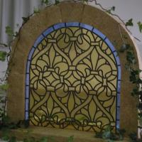 vitrail cistercien (plomb)