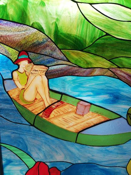 la dame a la barque 1