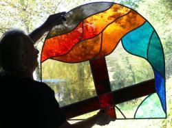 vitraux de La Roque sur Cèze